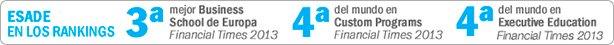 rankings escuelas negocio -Esade