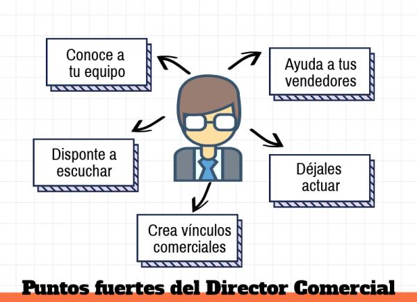 director comercial