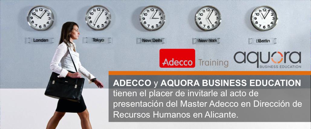 Presentación programa RRHH Adecco en Alicante
